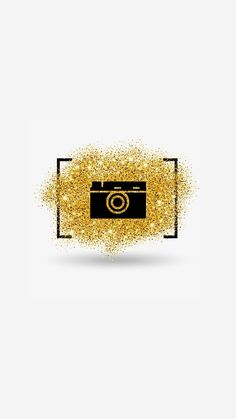 #gold #instastory #photo #icon Instagram Logo, Free Instagram, Instagram Story, Cute Images For Dp, Insta Icon, Gold Aesthetic, Iconic Photos, Iphone Background Wallpaper, Instagram Highlight Icons