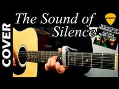 Learn how to play The Sound Of Silence by Simon & Garfunkel with this guitar lesson tutorial. Intro, chords, lyrics, and strumming pattern included. Guitar Tabs Songs, Music Chords, Music Guitar, Cool Guitar, Playing Guitar, Guitar Chords, Guitar Tips, Guitar Room, Acoustic Guitar Notes