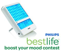 Tell us in 100 words or less how you boost your mood in the winter and you could win a light therapy panel from Philips.