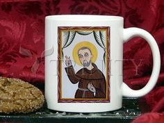 Coffee-Tea Mug (11 oz) - St. Padre Pio by A. Olivas   Trinity Stores