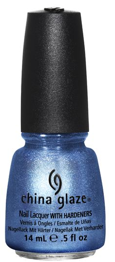 Wear blue fingernail or toenail polish as you walk down the isle. China Glaze - Blue Bells Ring