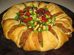 A Lighter Version of Pampered Chef's Taco Ring