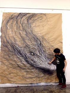 Los animales que escapan del papel de Fiona Tang
