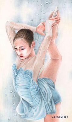 キム・ヨナ Colored Pencils, Elsa, Cinderella, Disney Characters, Fictional Characters, Disney Princess, Portrait, Art, Art Background