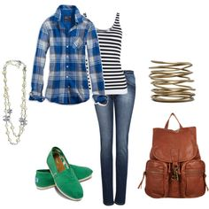 print mix-great campus outfit