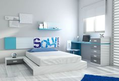 17 Captivating Child's Room Designs That Will Thrill You, Bedroom Bed Design, Bedroom Decor, Kids Room Organization, Teenage Room, Kids Bedroom Furniture, Kids Room Design, Cool Rooms, Home Office Decor, Home Decor Styles