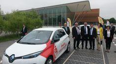 Inauguration, le jeudi 2 juin à Mouilleron-le-Captif en Vendée, du tout premier tronçon de route solaire au monde, la «Wattway by Colas».