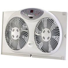 Jarden Home Environment Bionaire 9 inch Window Fan, White