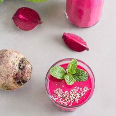 Beets http://www.rodalesorganiclife.com/food/6-summer-veggies-you-didnt-know-you-could-add-to-smoothies/slide/7