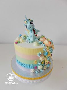 My little pony  torta, Autorka: Moli81, Tortyodmamy.sk