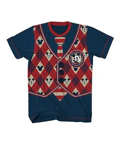 Love this Navy Mickey Mouse School Time Tee - Toddler & Boys by Disney Junior on #zulily! #zulilyfinds