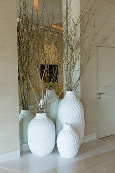 4 Magical Tips AND Tricks: Concrete Vases Test Tubes vases decoration living room. Tall Vase Decor, Floor Vase Decor, Tall Floor Vases, Vases Decor, Big Vases, Large Vases, Greek Decor, White Vases, Tall White Vase