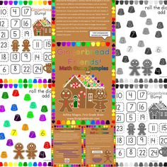 Gingerbread Math Games sample