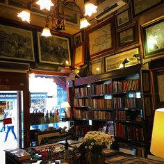 Floor to ceiling antiquarian maps, books, and engravings, and a selection of fine blank notebooks? Why thank you for curating a shop just for me, don't mind if I do!! #oneofeachplease at Denizler Kitabevi in Istanbul, Turkey
