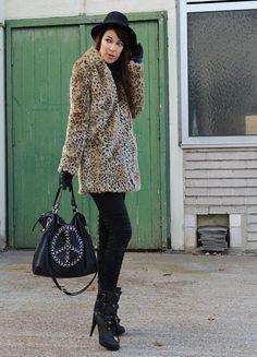 i want a leopard jacket so badly