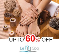 Upto 60% Off on Le Nu #Manicure with Choice of Gel Color or #Pedicure @ #LeNuSpa #Cary #Raleigh. Offer valid for a limited time period.