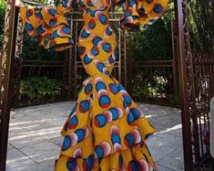 African Print Wedding Dress, African Party Dresses, African Dress, Prom Dresses, African Style, African Formal Dress, Prom Outfits, African Wear, Dress Prom