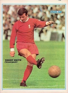 SHOOT football magazine Liverpool TOMMY SMITH old memorabilia picture poster | eBay