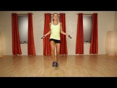 10-Minute Jump Rope Workout | Cardio Workout | Class FitSugar - YouTube