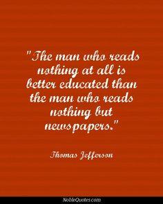 Thomas Jefferson Quotes | http://noblequotes.com/: