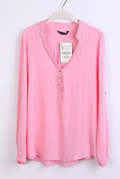 This pink blouse would look great with leggings/skinny jeans and riding boots