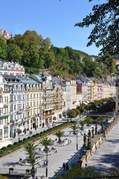 Karlovy Vary is a spa city situated in western Bohemia, Czech Republic.