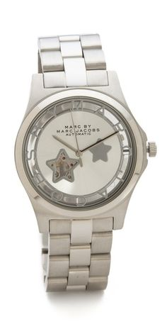 Marc by Marc Jacobs Icon Cutout Automatic Watch   SHOPBOP