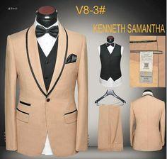 Party Dresses Men Prom Suits Latest Coat Pants Vest Designs Slim Fit Evening Party Suit Blazers One Button Costume Homme