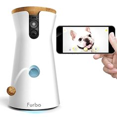 Furbo Dog Camera: Treat Tossing, HD Wifi Pet Cam and Audio *** Continue with the details at the image link. Dog Tricks, Top Tech Gifts, Best Smart Home, Hamsters, Pet Camera, Audio, Dog Items, Home Security Systems, Dog Supplies