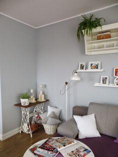 My dream white home