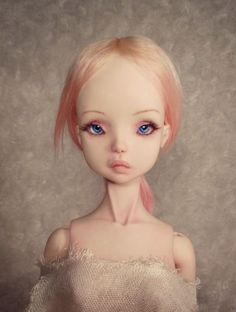 """Aurora"" Butterfly Fairy OOAK BJD Art Doll by Victoria May MSD Magic Enchanted 