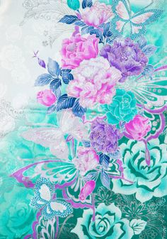 着物 No:856 商品名:白 浜乙女 Wallpaper Backgrounds, Iphone Wallpaper, Chinese Embroidery, Japanese Flowers, Japanese Patterns, Pretty Wallpapers, Pretty Pictures, Textures Patterns, Cat Art