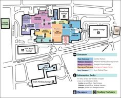 AMH Campus Map