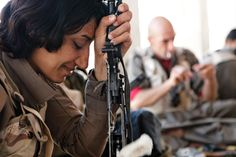 Kurdish peshmerga fighters: women on the frontline - in pictures | World news | The Guardian