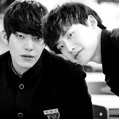 School 2013--Kim Woobin, Lee Jong Suk