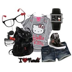 'Hello Kitty Outfit' on Wish