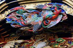 "Kakezakana of richly-colored ""Phoenix"""