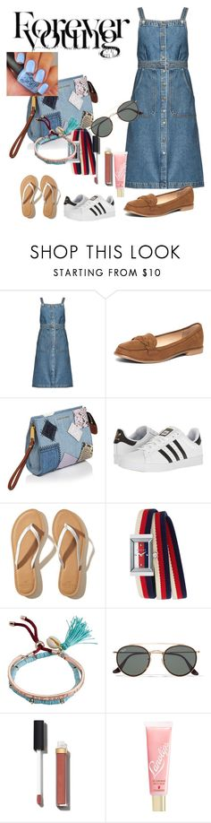 """""""Forever young"""" by verde80 ❤ liked on Polyvore featuring M.i.h Jeans, Dorothy Perkins, Marc Jacobs, adidas, Hollister Co., Gucci, Billabong, Ray-Ban, Chanel and Lano"""
