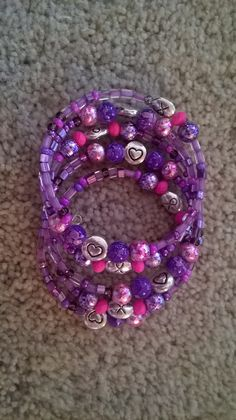 Honor Bracelet to Benefit Relay for by luckyblacksheep on Etsy, $13.00