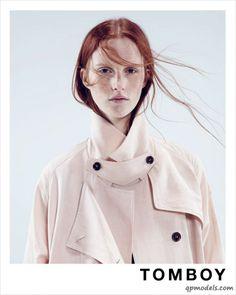 Magdalena Jasek for Tomboy Spring/Summer 2014 Campaign - http://qpmodels.com/european-models/magdalena-jasek/6310-magdalena-jasek-for-tomboy-spring-summer-2014-campaign.html