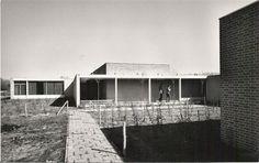 Levensschool (1961-73) in Helmond, the Netherlands, by Jos. Bedaux