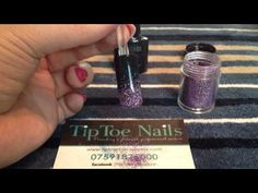 How To: CND Shellac Glitter Fade