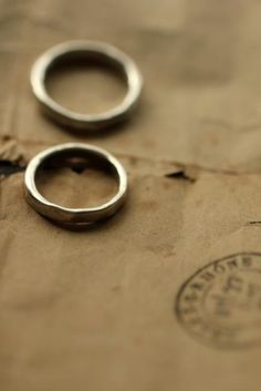 Pair Silver Round Ring 3mm - IRRE