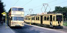 Hakenfelde 1967 Berliner Strassenbahn und Omnibus
