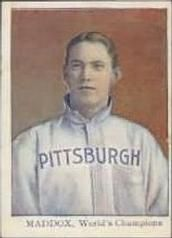 1910 Tip Top Bread D322 #11 Nick Maddox Front
