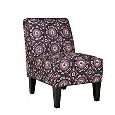Portfolio Madigan Grey Pinwheel Armless Chair - Overstock Shopping - Great Deals on PORTFOLIO Living Room Chairs