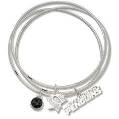 NHL Pittsburgh Penguins Triple Bangle Bracelet Logo Art,http://www.amazon.com/