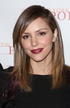 Two Pics of Katharine McPhee That Prove Dark Roots are So Flattering