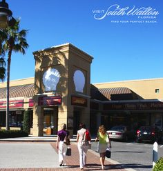 Did you know South Walton is home to one of the nation's largest designer outlet centers? Head to Silver Sands Premium Outlets in Miramar Beach for a little retail therapy!
