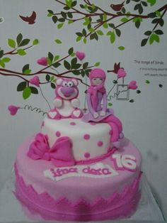 Pink hijab cakes Miss Candy, Hijab Cartoon, Happy Birthday, Cakes, Desserts, Pink, Food, Pies, Happy Brithday